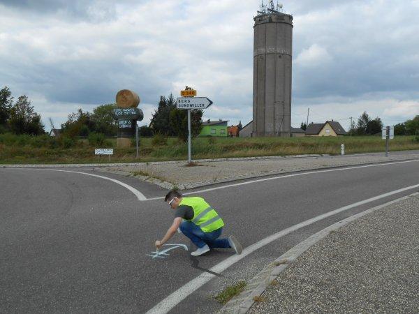 R.E. 2016 - Fléchage route !