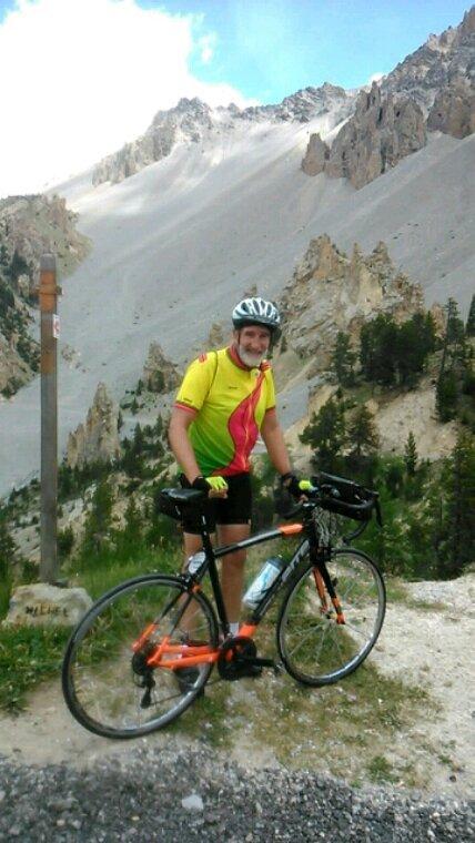 Sur la routes des Alpes