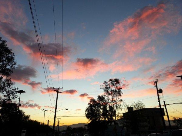 Un lever du jour sans pollution voilà à quoi ça ressemble :)