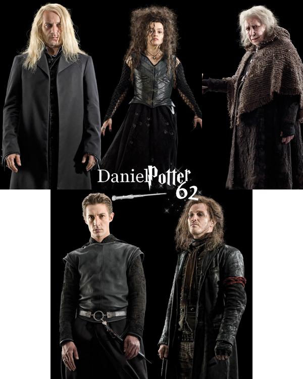 Nouvelles photos des personnages HP7