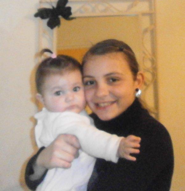 ma fille et ma petite sr  DALIANA
