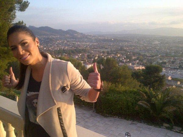 Zaho en promo à Marseille