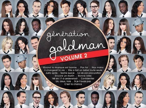 Génération Goldman Volume 2 avec ... Zaho ! Et bien d'autres !