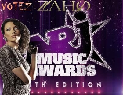 Zaho est Pré Nominée Aux Nrj Music Awards 2014 !