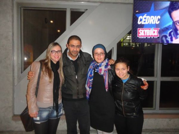 La Team Zaho avec THE BOSS & THE BEST ! <3
