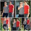 . 23/10/10 : Le couple JASHLEY se promenant a baton rouge en Louisiane  !  .