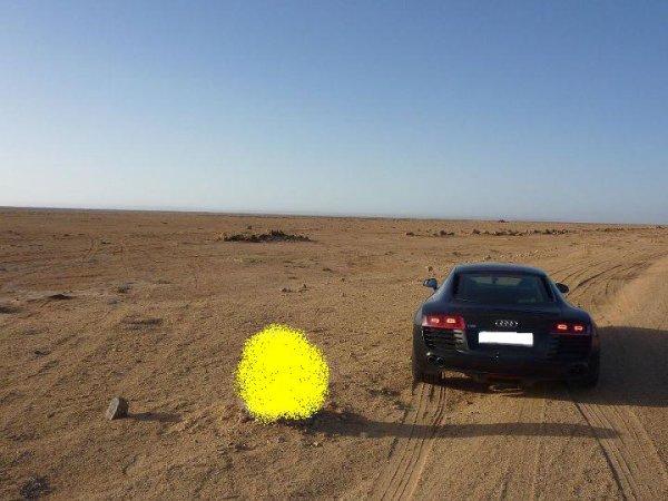 Audi r8 à errachidia !!!!!!!!!!