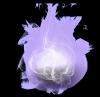 une boule denergie qui l'attrappe :D