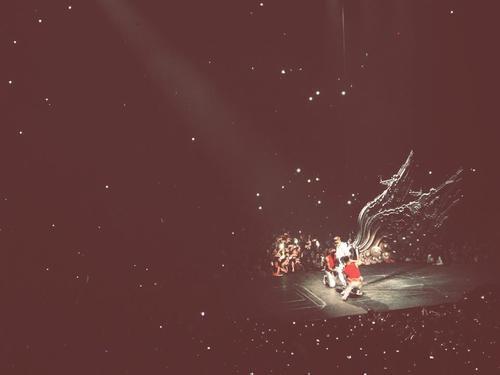 Mon concert à Paris Bercy. #BieberDream ♥