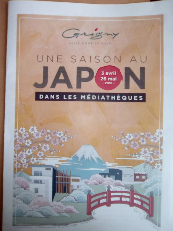 Une saison au Japon dans les Médiathèques !!!!