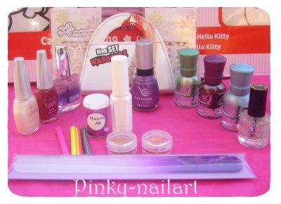 Giveaway chez Pinky-Nailart