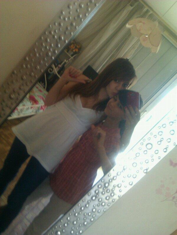 petite sœur et moi <3