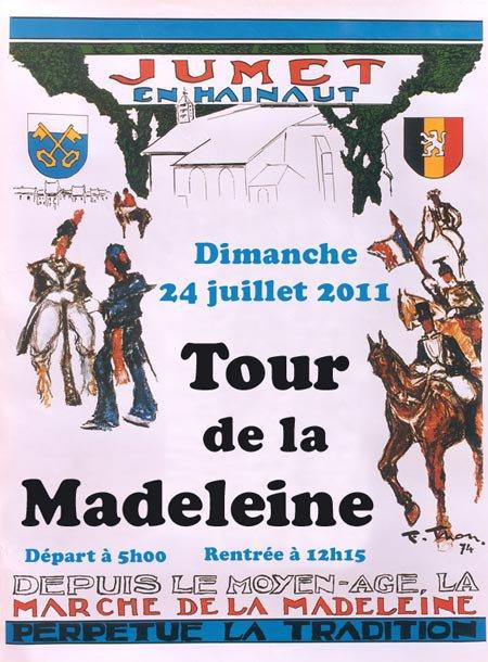 Programme des festivités de la Madeleine du 21 juillet au 28 juillet 2011: