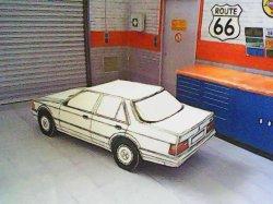 Ford Orion maquette résultat (by me)
