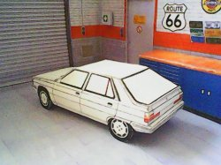 Renault 9 & 11 maquettes résultat (by me)
