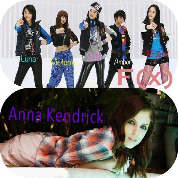 Les f(x) avec Anna kendrick dans Funny or Die
