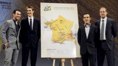 Les étapes du tour 2011