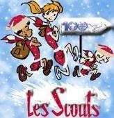 Les Scouts a la neige