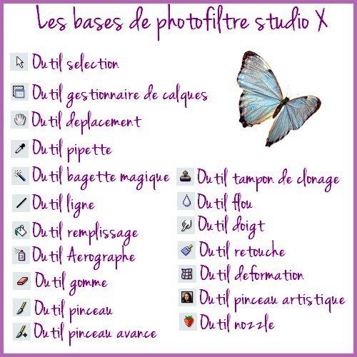 ♥ Bases photofiltre ♥
