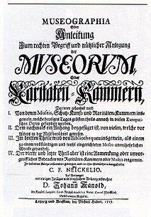 Wunderkammer: Naturalia, Mirabilia, Artefacta, Scientifica, Antiquites und Exotica.