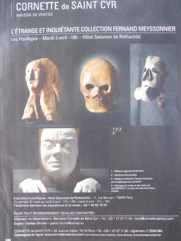 Rieunier & Associés - Collin du Bocage - Fraysse & Associés - Cornette de Saint Cyr Paris.