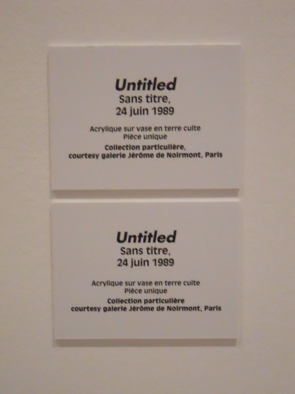 Keith Haring @ Musée d'Art Moderne.