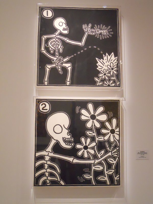 Keith Haring @ Musée d'Art Moderne.