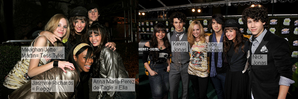 19/02/08 : Demi, Selena et d'autres Teens Disney étaient présentes aux « Chevy Rocks The Future » à Los Angeles. TOP/BOF/FLOP? Pour moi c'est un BOF, Demi est très belle mais je ne suis pas très fan de sa tenue.