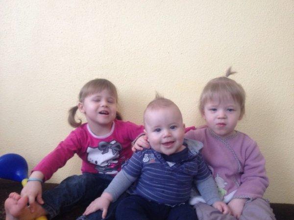 mes trois petits enfants