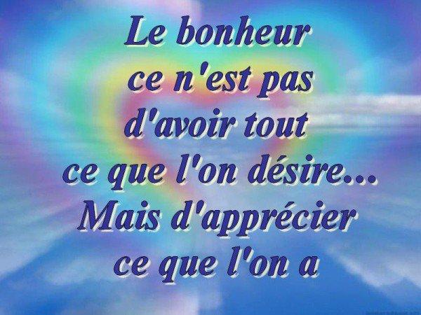 LE BONHEUR...IMPOSSIBLE