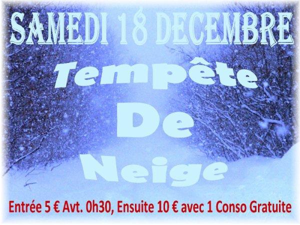 SAMEDI 18 DECEMBRE 2010 - MEGA TEMPETE DE NEIGE