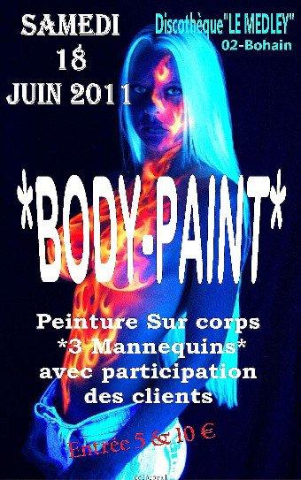 SAMEDI 18 JUIN 2011 - BODY-PAINT (PEINTURE SUR CORPS)