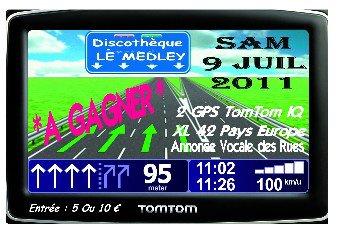 SAMEDI 9 JUILLET 2011 - GPS TOMTOM A GAGNER