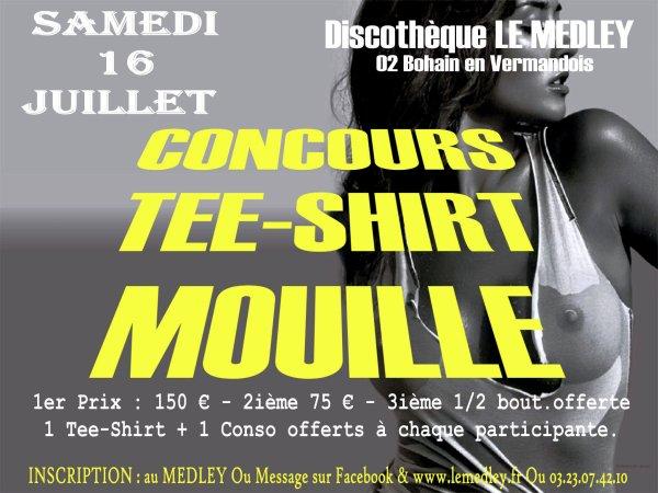 SAMEDI 16 JUILLET 2011 - CONCOURS TEE SHIRT MOUILLE