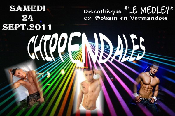 SAMEDI 24 SEPTEMBRE 2011 - LADY NIGHT CHIPPENDALES