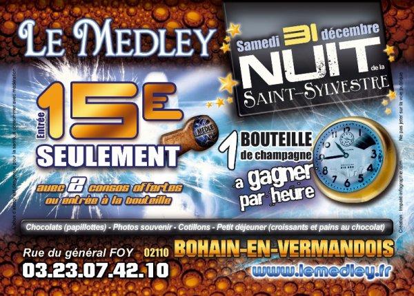 SAMEDI 31 DECEMBRE 2011 -  NUIT DE LA SAINT SYLVESTRE