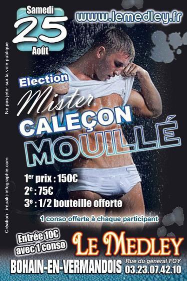 """SAMEDI 25 AOUT 2012 - ELECTION DE """"Mister Caleçon Mouillé"""""""