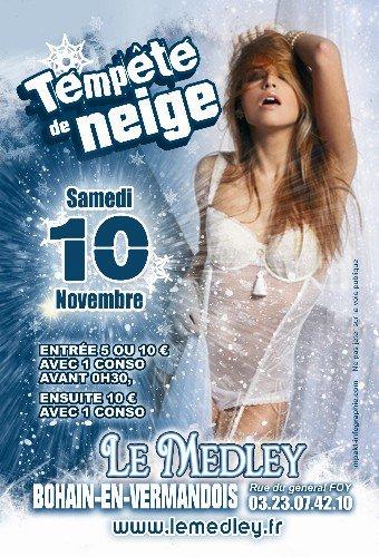 SAMEDI 10 NOVEMBRE 2012 - TEMPÊTE DE NEIGE