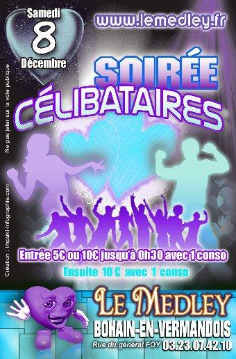 SAMEDI 8 DECEMBRE 2012 - SOIREE CELIBATAIRES