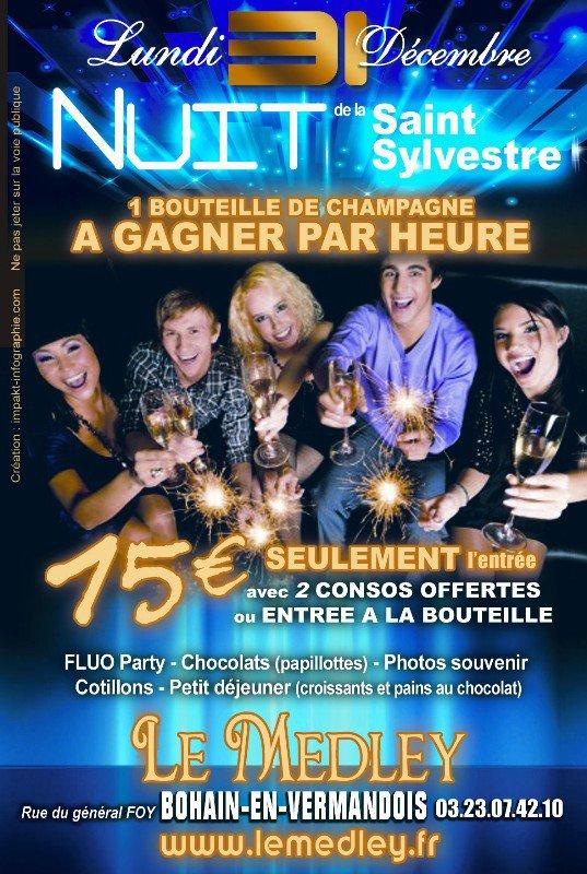 LUNDI 31 DECEMBRE 2012 - REVEILLON DE LA SAINT SYLVESTRE