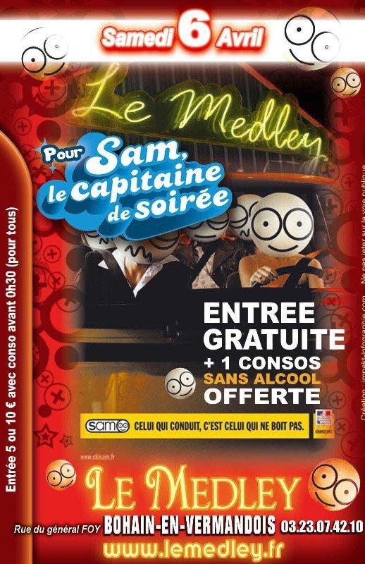 SAMEDI 6 AVRIL 2013 - CAPITAINE DE SOIREE
