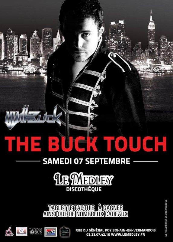 SAMEDI 7 SEPTEMBRE 2013 - THE BUCK TOUCH LIVE