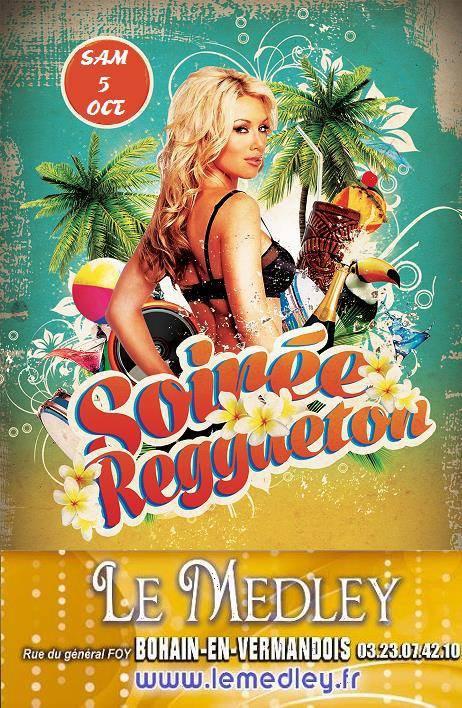 SAMEDI 5 OCTOBRE 2013 - SOIREE RAGGAETON