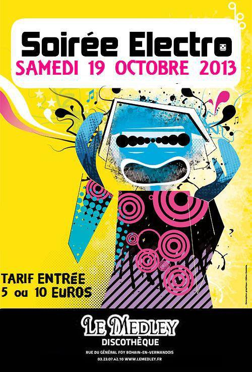 SAMEDI 19 OCTOBRE 2013 - SOIREE ELECTRO