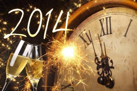 JE VOUS SOUHAITE UNE BONNE ET HEUREUSE ANNEE 2014