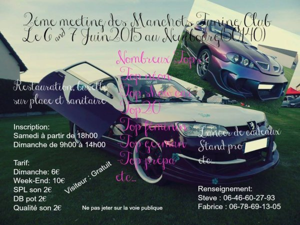 2éme meeting Les Manchots Tuning Club