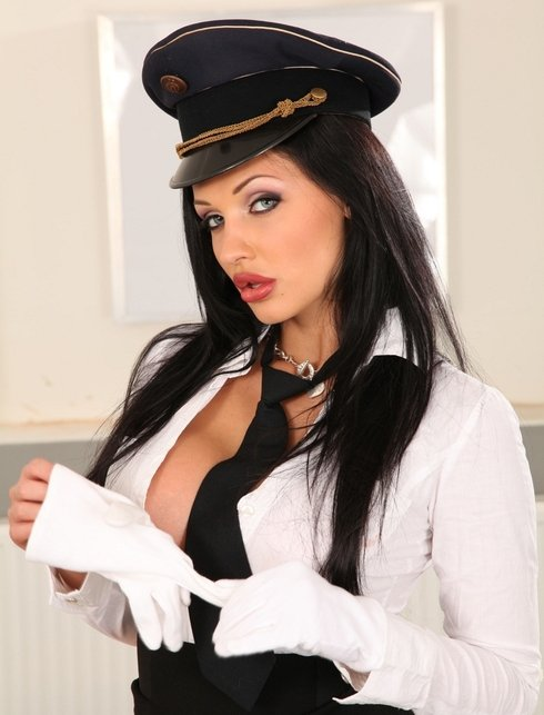 Lucy D - 987 .. The air hostess