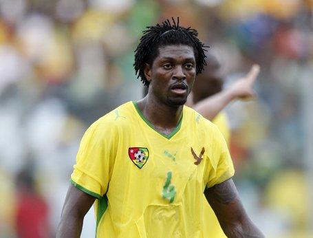 CAN 2013 : Emmanuel Adebayor (Togo) n'ira pas