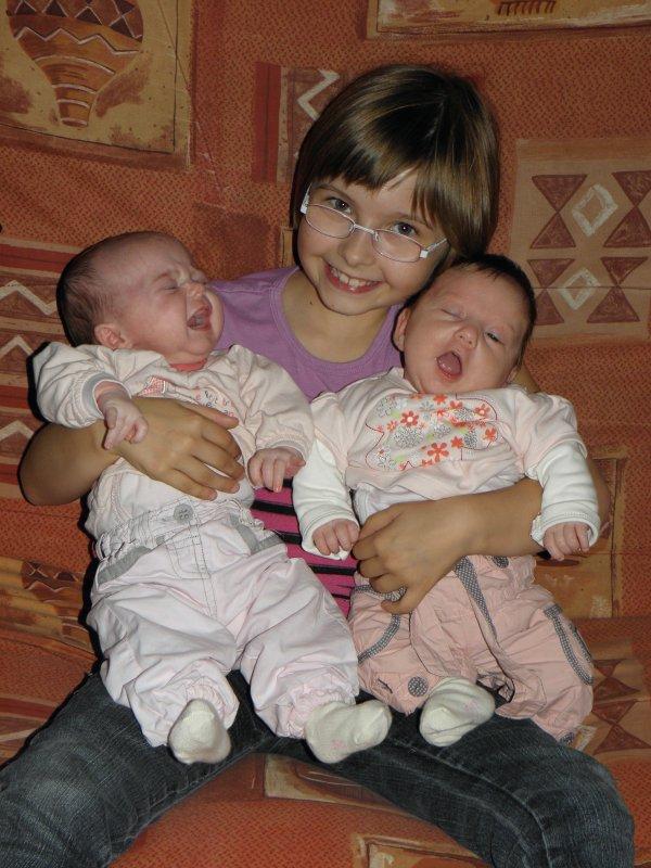 mes puces avec leur soeur alexia