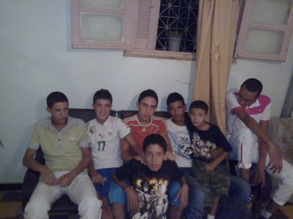 les garçons de la famille bousmaha